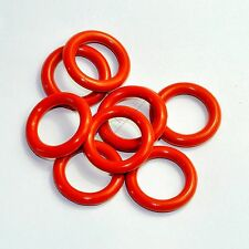 Tube Dampers Silicone O-Ring fit 12AX7 12AU7 12AT7 12BH7 EL84 100pc for tube amp
