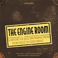 NEW The Engine Room: A History of Jazz Drumming from Storyville to 52nd Street