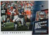 2017 Panini Rookies and Stars Action Packed #20 Dak Prescott Cowboys
