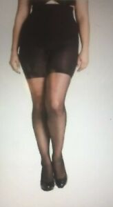Spanx Size G Shaping Sheers Black Perfect Pantyhose NWT Sara Blakely New