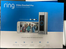 Ring Pro Video Doorbell Hd Video with Motion Alerts Ring Doorbell Pro🌟Open Box✅