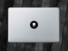Tooth Sticker Dentist Teeth Decal For Apple MacBook Mac iPad Laptop Car Window