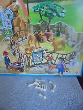 Playmobil  6634 City Life Zoo Food For Lions Bones Bone Lot Archaeology Dig 4
