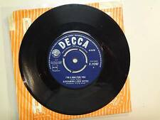 "SCREAMING LORD SUTCH:I'm A Hog For You-Monster In Black Tights-U.K. 7"" 63 Decca"