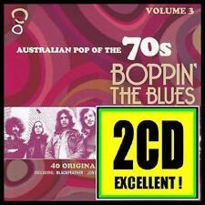 70's (2 CD) BOPPIN' THE BLUES - AUSTRALIAN POP OF THE 70's Volume 3 *NEW*