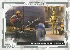 Star Wars Masterwork 2017 - AR-4 Adventures of R2-D2 Chase Card