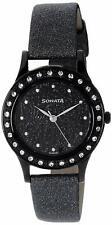 Sonata Analog Black Dial Women's Watch - 8123NEA FROM INDIA