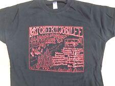 LOST CREEK Jubilee 2011 T-SHIRT Ladies JR MED Filthiest People Alive Band Fest