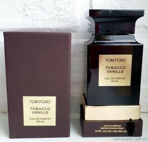 Tom Ford Tobacco Vanille 3.4oz Unisex Eau de Parfum AUTHENTIC