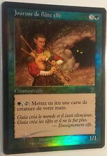 Joueuse de Flûte 7ème PREMIUM / FOIL VF - French 7th Elvish Piper - Mtg magic