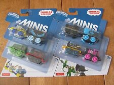 Thomas the Train DC Super Friends Minis 4 Pack lot of 2 w/ Nightwing Batman NEW
