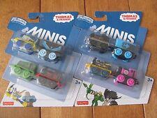 Thomas the Train DC Super Friends Minis 4 Pack lot of 2 w/ Nightwing Batman NEW