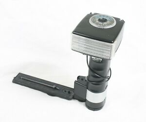 Metz 45 CT-1 Mecablitz Handle Mounted Camera Flash with diffuser and holder 8501