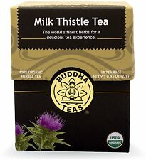 Milk Thistle Tea, Buddha Teas, 18 tea bag 1 pack