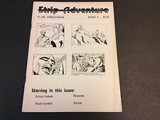 STRIP ADVENTURE Issue 4 March 1992 Phantom Flash Gordon Tarzan Prince Valiant