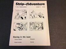 STRIP ADVENTURE Issue 4 March 1992 Phantom Flash Gordon Tarzan Prince Valiant