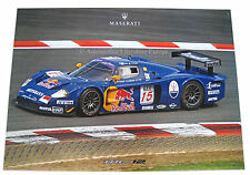 2005 MASERATI MC12 CORSE RACING HÄNDLER DEALER POSTER ORIGINAL 68 x 98 CM