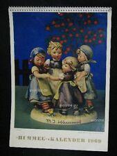"""Goebel Hummel Kalender Calendar 1969, Titelbild """"Ringelreihen"""", Jasmina"""