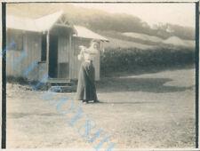 More details for dodhead golf  club woman  1st tee  original  edwardian photo 4 x 3 inch