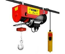 300/600KG 1200 Watt Motor Electric Hoist 18M Height Heavy Objects Lifting Winch