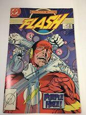 Flash #8 Millennium Tie-In Justice League Green Lantern DC Comics January 1988
