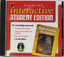 Glencoe Understanding Psychology, Interactive Student Edition full CD New,Sealed