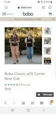 Boba Classic 4GS Baby Carrier Brown