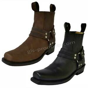 Mezcalero Ensenada New Ankle - Biker Boots Cowboy Style genuine leather handmade