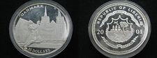 LIBERIA , 20 DOLLARS DE 2001 - DANMARK , SILVER . PLATA - PROF
