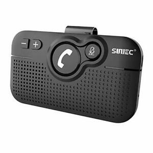 SUNITEC Hands Free Bluetooth for Cell Phone Car Kit - Wireless Bluetooth 5.0 ...