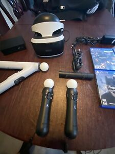 Sony PlayStation VR Headset Bundle Everything You See 4 Games.