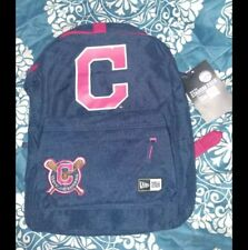 Cleveland Indians New Era Heritage Patch Stadium MLB Backpack Dark Blue