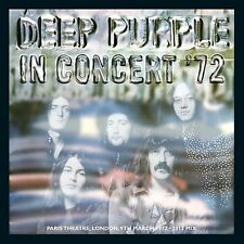DEEP PURPLE In Concert '72 CD BRAND NEW Palais Theatre London 2012 Mix