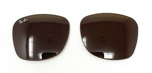 New Authentic RAYBAN Replacement Lenses RB2140 Original Wayfarer Brown 50mm