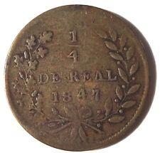 Mexico Sinaloa 1/4 Real 1847