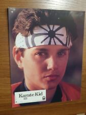 AFFICHE PROMOTIONNELLE FILM KARATE KID III COLOMBIA PICTURES