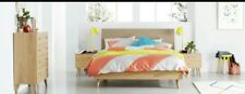 Forty Winks Ella bed double grey fabric Scandinavian