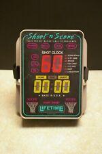 VINTAGE SHOOT N SCORE ELECTRONIC BASKETBALL SCOREBOARD SHOT CLOCK LIFETIME PROD
