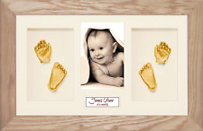 New 3D Baby Casting Kit Twins Unique Christening Present Gift Keepsakes Boy Girl