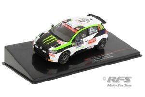VW Polo GTI R5 Rallye Monte Carlo 2020 Oliver Solberg Monster 1:43 IXO RAM 751