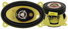 """Pyle Gear 4x6"""" Pouce Ovale 360 W Coaxial Trois Voies Paire De Voiture Porte de haut-parleurs"""
