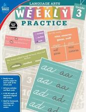 Language Arts, Grade 3 (Weekly Practice) Free Shipping