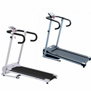 HOMCOM Motorised Electric Treadmill Running Machine Fitness Folding Exercise Run