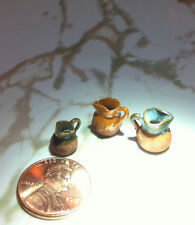 Mini Miniature Pitchers- Three - Believe They Are Vintage
