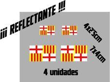 (1111r)4 x bandera Tabarnia BARCELONA REFLECTANTE catalonia vinilo adhesivo