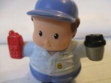 Fisher Price Little People Walmart Super Center Big Rig Driver Figure Smile toy