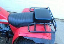 "16"" X 12"" BLUE REAR RACK SEAT PAD 200ES 200E BIG RED 200 ATC HONDA 3 WHEELER ATV"