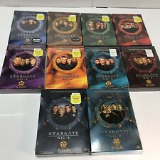 Stargate SG-1 Complete Series DVD Box Sets Seasons 1-10 Lot Awesome Sets! E1