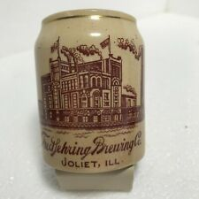 Joliet Illinois. Fred Sehring Brewing Co.Advertising Stone Ware Mug.