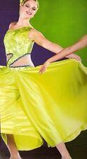 Awakening Dance Costume LIME GREEN Palazzo Pants Jumpsuit Clearance Child Large